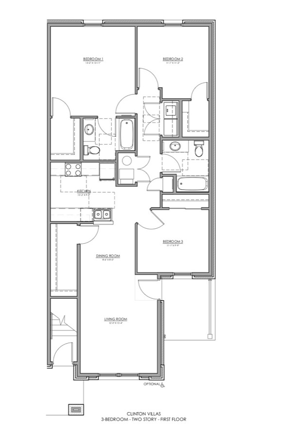 3 Bedroom Apartments Tampa: Clinton Apartments
